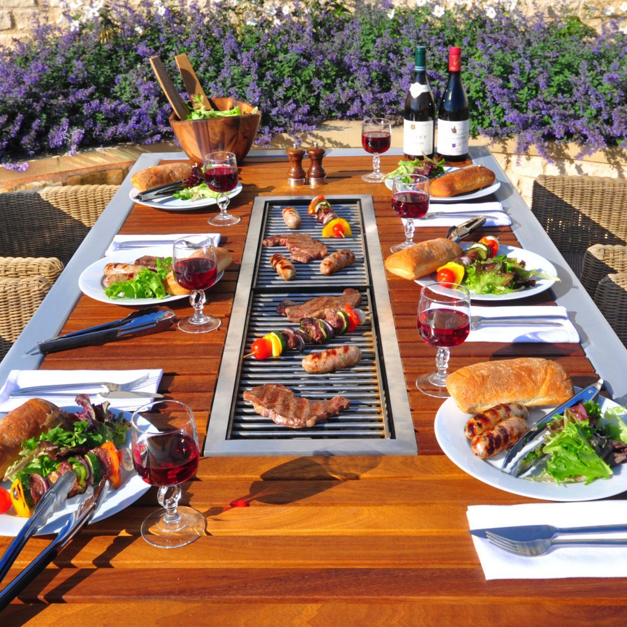 Angara Maximus Barbecue Table Built In Bbq Grill Bbq Table Built In Bbq