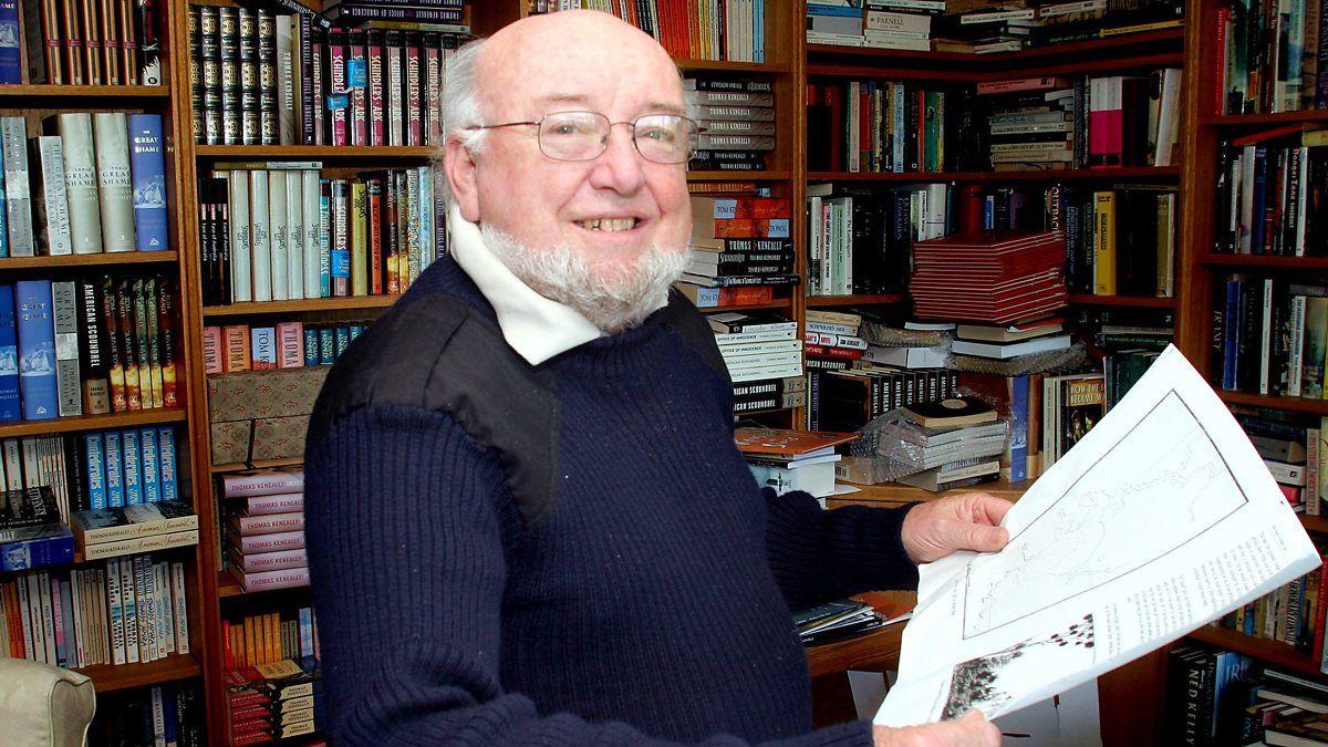 Including prolific author Thomas Keneally, best-selling author of  Schindler's Ark. BBC Radio Scotland Sunday Morning with .