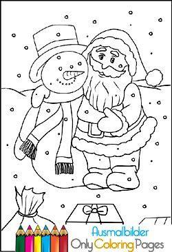 malvorlagen weihnachten pdf | ausmalbilder | Pinterest