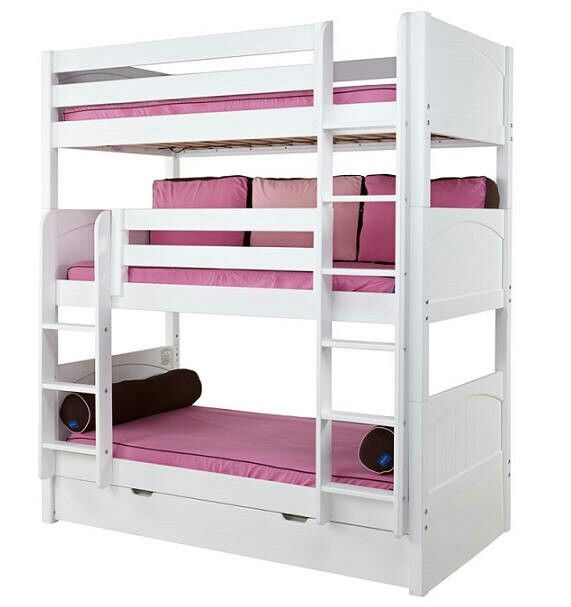 I Like This One The Most Three Beds Triple Bunk Beds Bunk Beds
