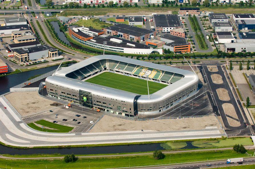 Luchtfoto Voetbal Stadion Ado Den Haag By Moniek Mulder Estadio De Futbol Estadios Futbol