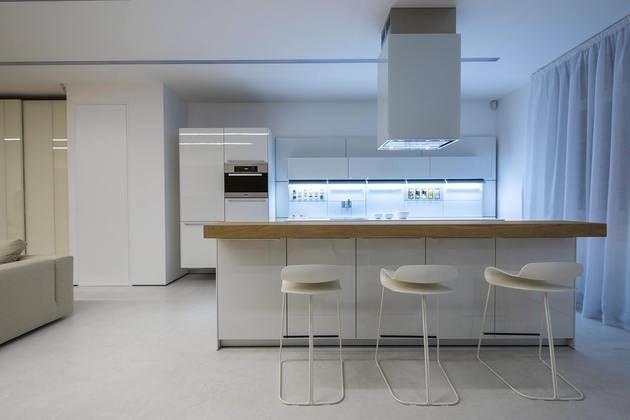#Wohnungen Design Und Technologie Mix In Contemporary Kiev Apartment #house  #garten #Ideen