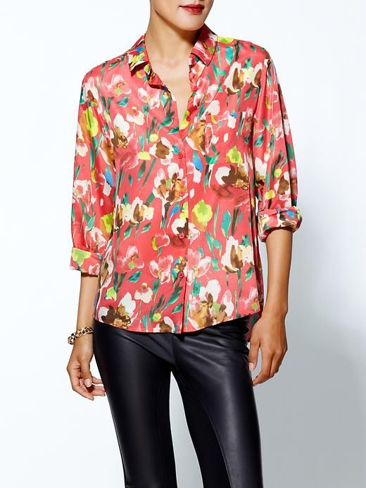 love the print of this blouse