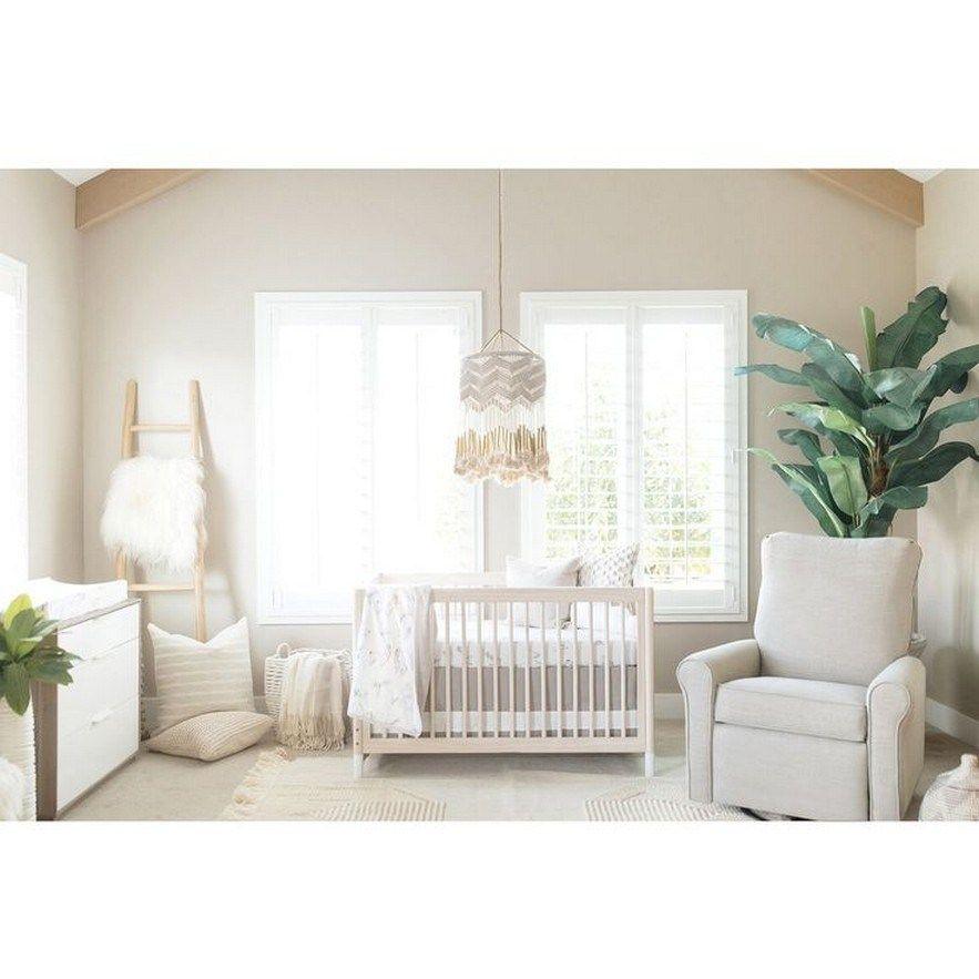 Modern Neutral Nursery Full Of Plants 59 Design And Decoration Nursery Baby Room Cribs Nursery