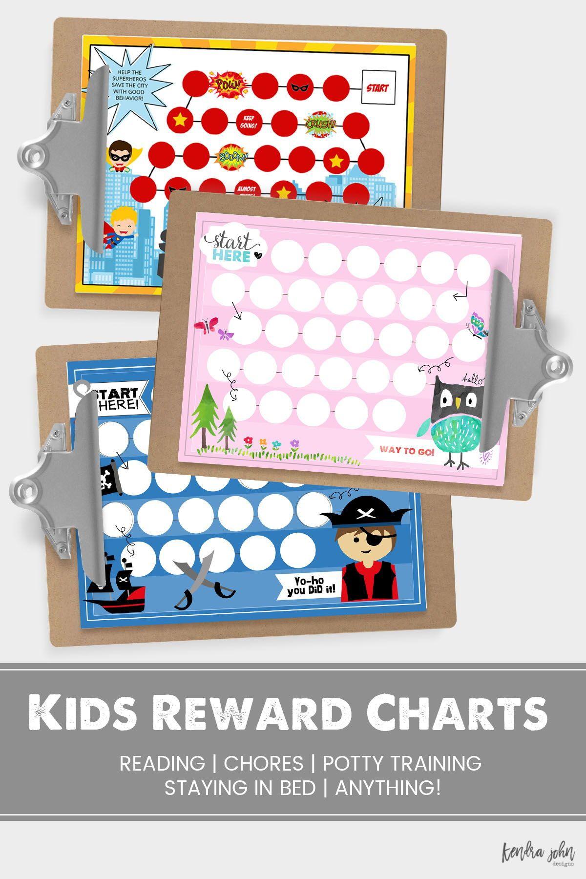 Kids Reward Chart Printables