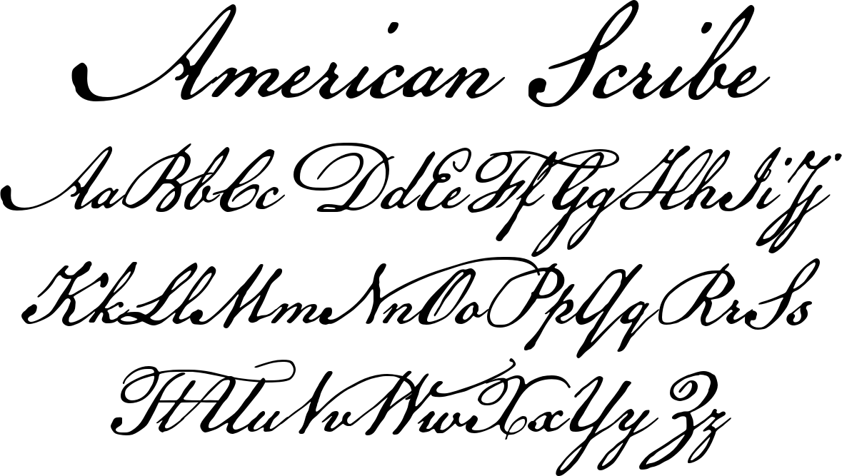 American Scribe | Calligraphy | Cursive fonts, Calligraphy alphabet