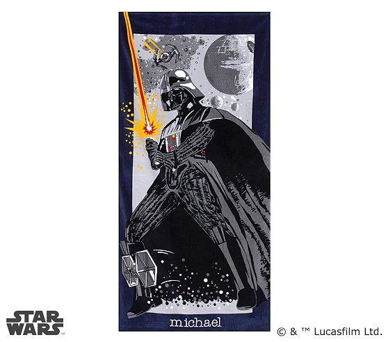 Darth Vader™ Beach Towel | Pottery Barn Kids
