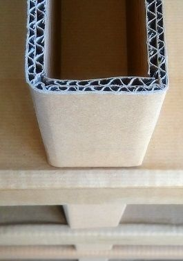 Cardboard Shelving Without Screw Nor Glue... #cardboardshelves
