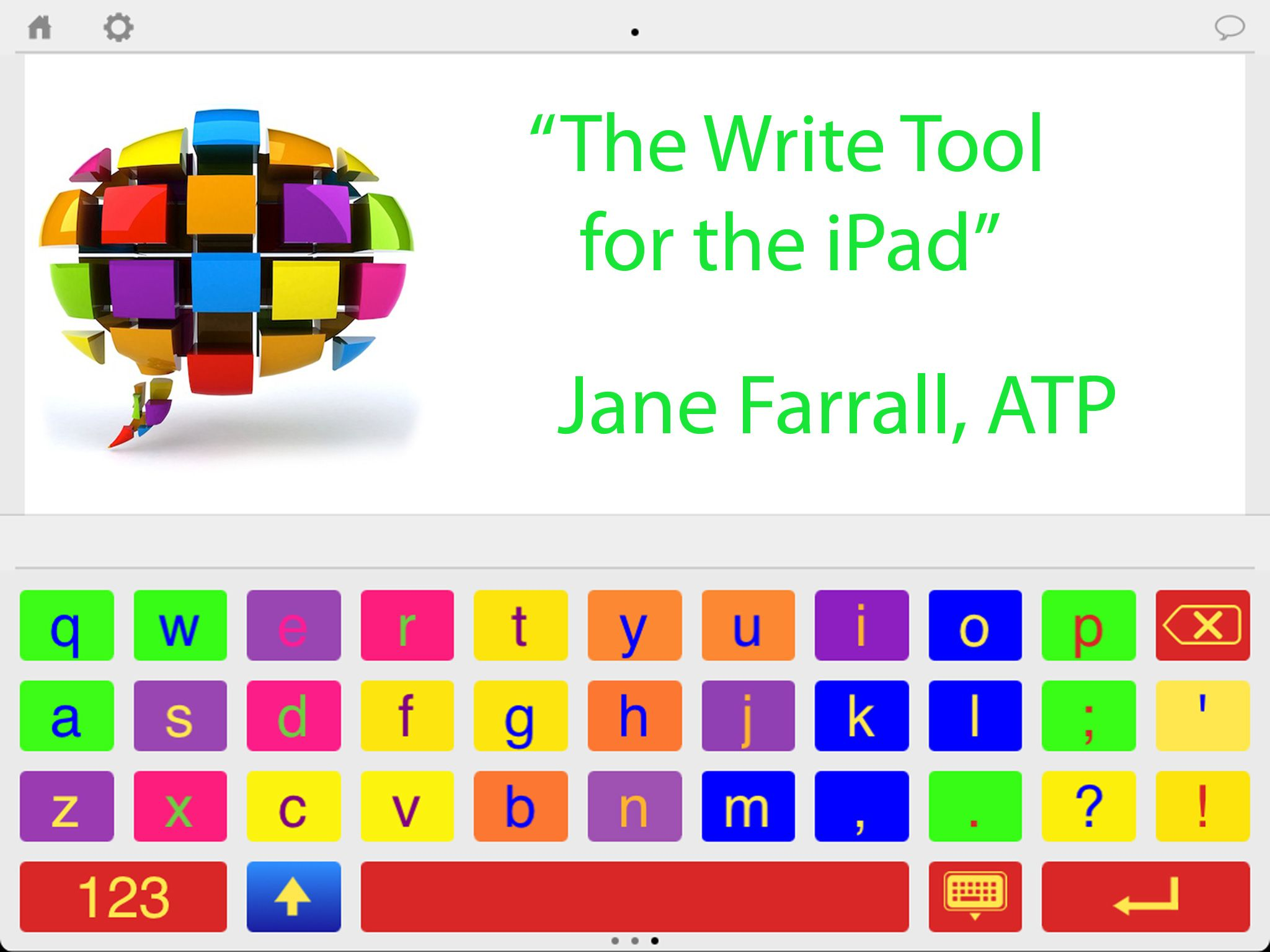 Abilipad (Apple) Abilipad is a customizable keyboard and