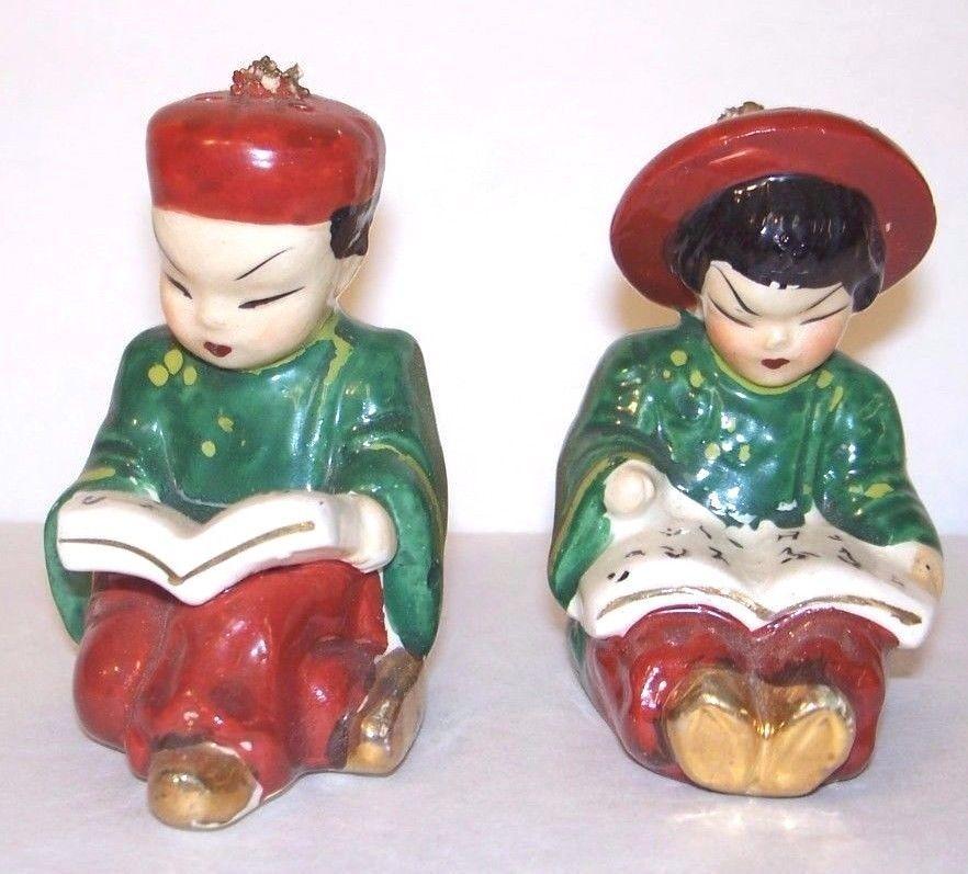 Decorative Arts Asian Bookends Orient Chinese Japanesse Confucius Antique Vintage Books