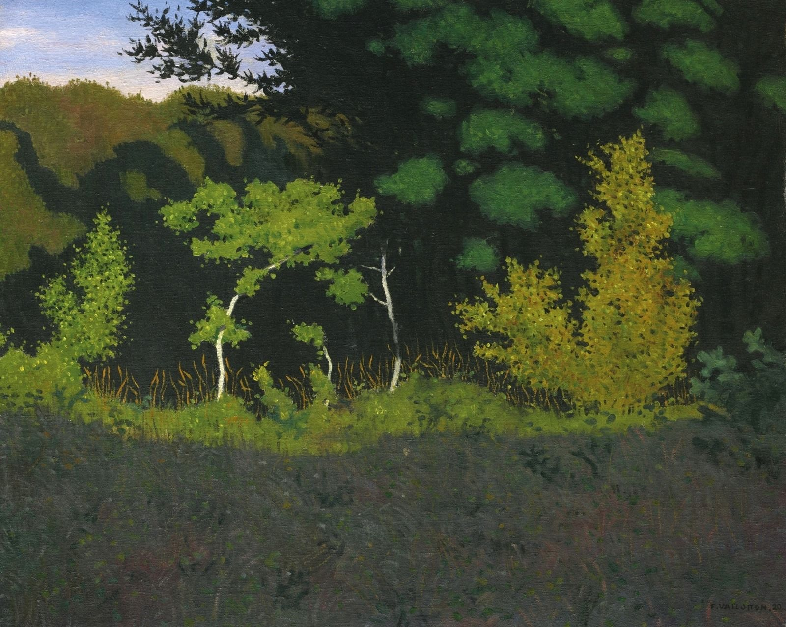 Félix Vallotton | Nabi painter | Plein Air and Landscapes | Tutt'Art@ | Pittura • Scultura • Poesia • Musica