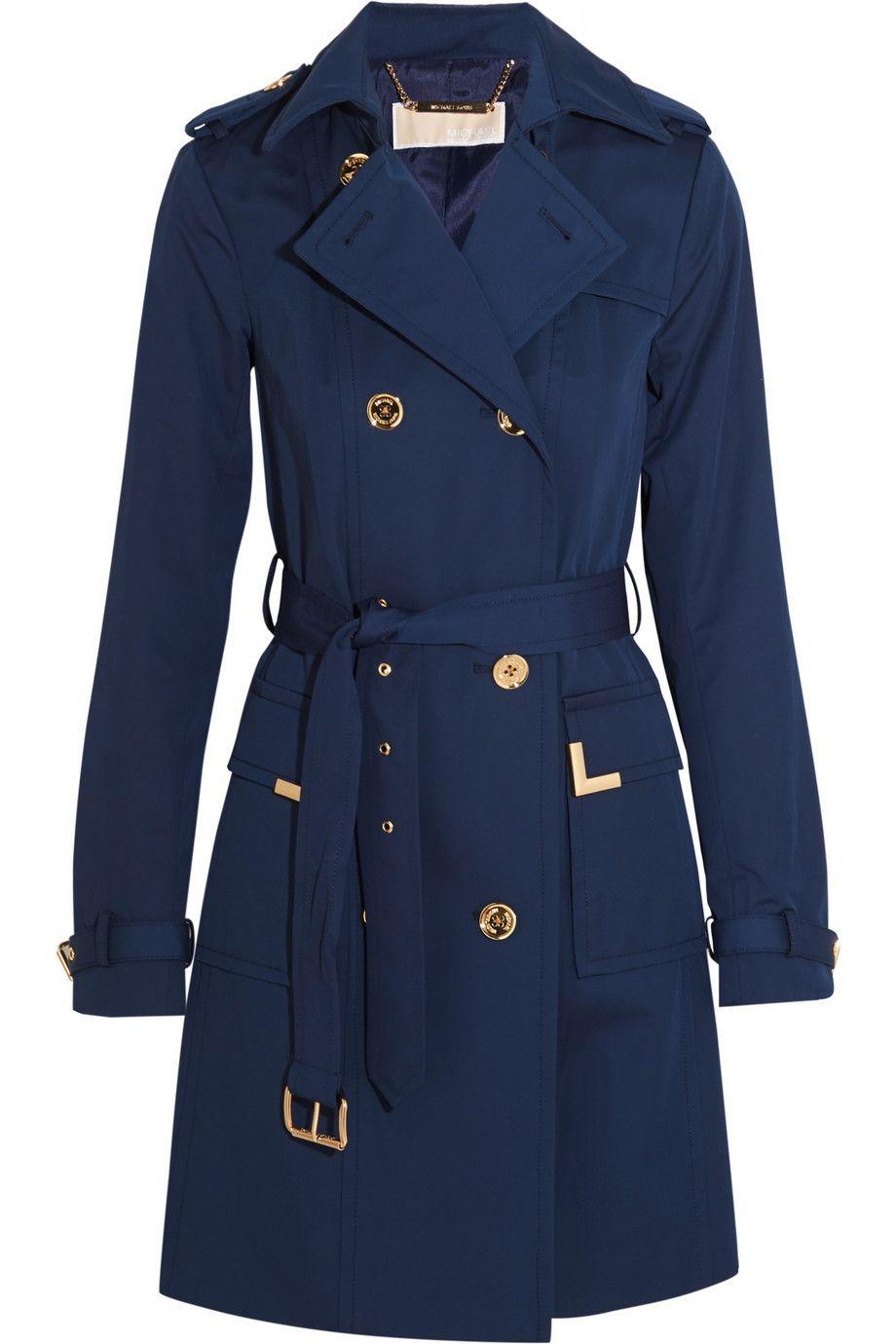 MICHAEL Michael Kors | Beverly cotton-blend trench coat | NET-A-PORTER