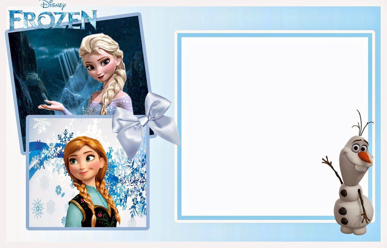 Frozen Birthday Invitations Template Best Of 24 Heartwarming