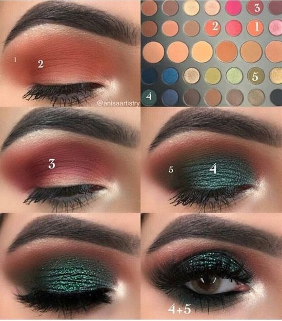 15 Easy & Gorgeous Makeup Looks For Beginners #eyemakeup