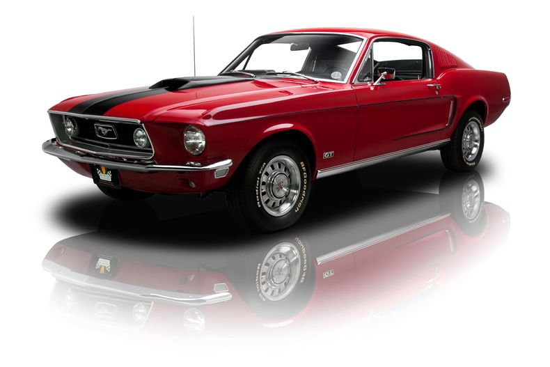 1968 Ford Mustang GT 428 Cobra Jet V8 4 Speed