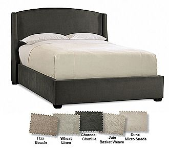 Best Sleep Number® Refined Sidewing Upholstered Headboard For 400 x 300