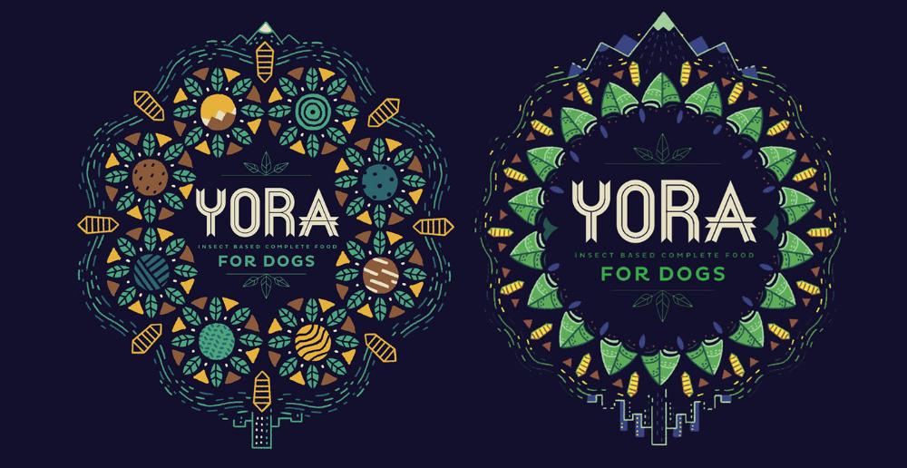 YORA Pet Foods on Behance Food animals, Pets, Brand