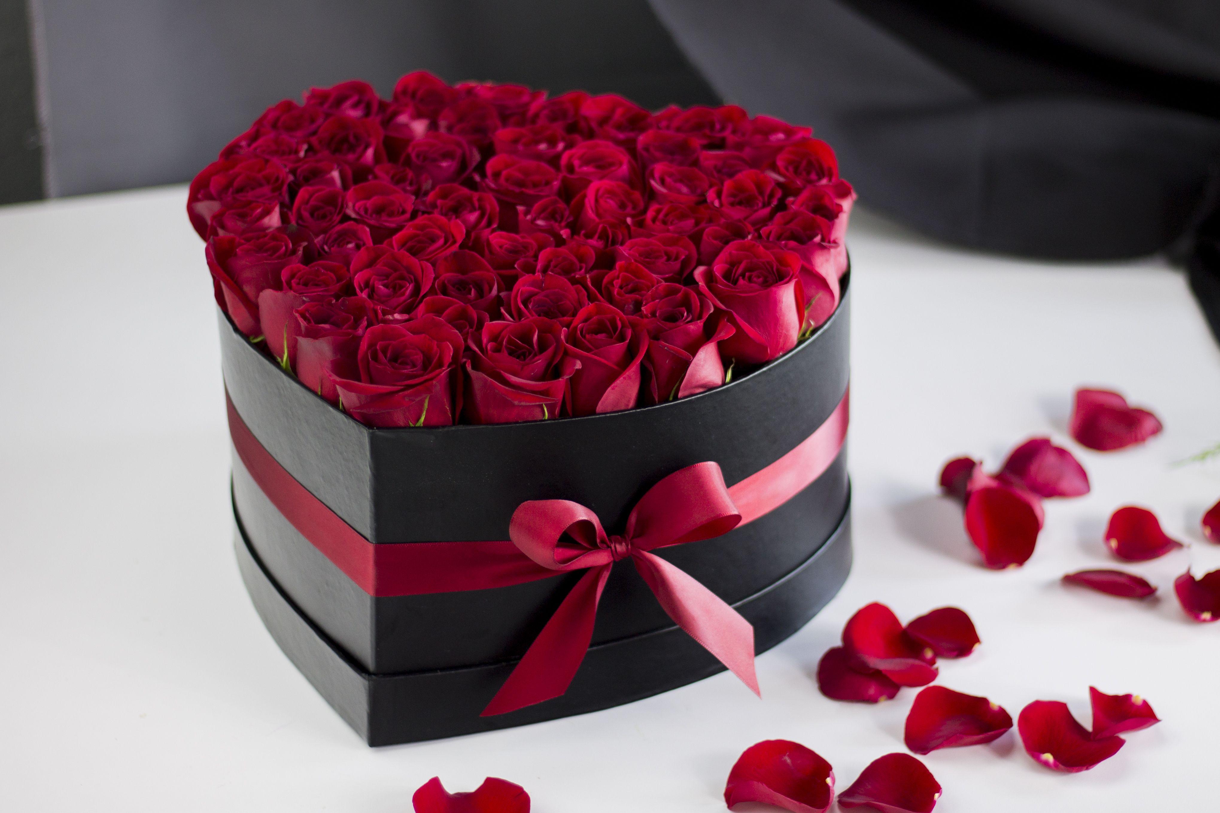 Luxury Roses Miami Beautiful Rose Flowers Flower Box Gift Birthday Flowers Bouquet