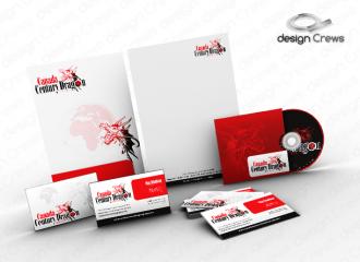 Canada Dragon S Stationery Design Stationery Design Design Studio Logo Business Card Design