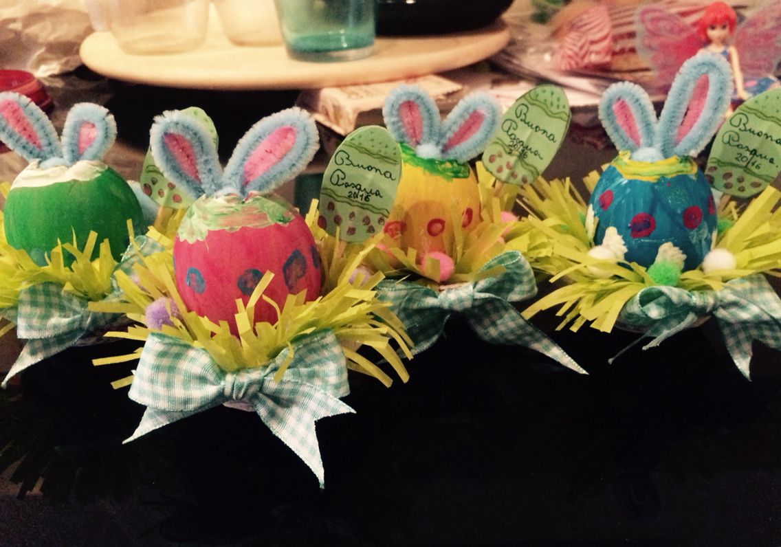 #easter #bunny #kidscrafts #craftswitheggs #eggs #spring