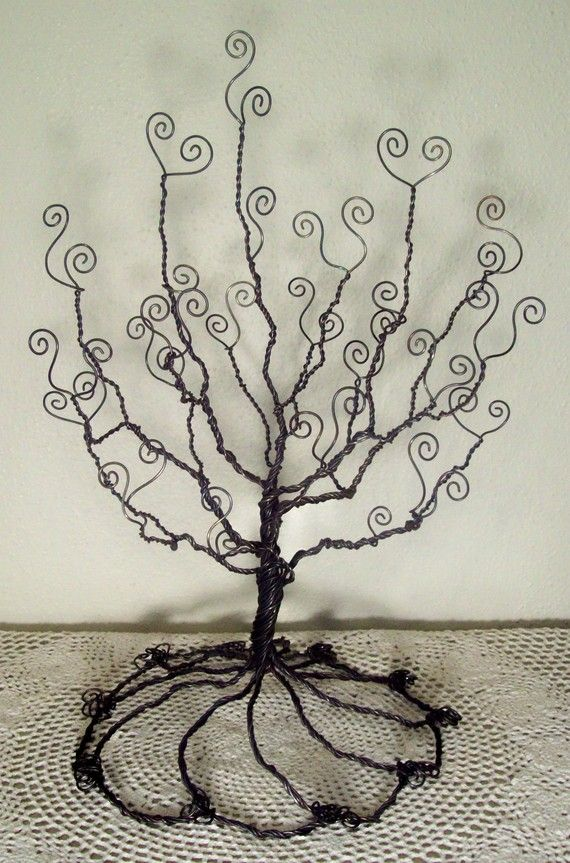 Jewelry Photo Holder Wire Tree I Could Make This Yes Of Course