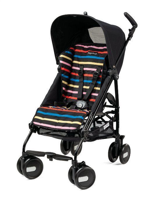 Amazon.com : Peg-Perego Pliko Mini Stroller, Aloe : Standard Baby Strollers : Baby
