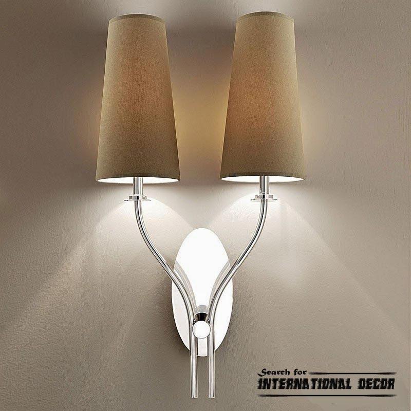 Contemporary wall lights, lighting ideas and lamps Decoração