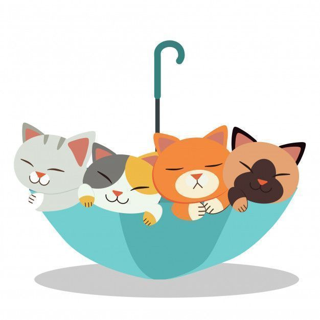The group of cute cat with the umbrella. the cats look happy and relaxing. the cute umbrella and cute cat in flat vector style. Premium Vector #cuteumbrellas The group of cute cat with the umbrella. the cats look happy and relaxing. the cute umbrella and cute cat in flat vector style. Premium Vector #cuteumbrellas The group of cute cat with the umbrella. the cats look happy and relaxing. the cute umbrella and cute cat in flat vector style. Premium Vector #cuteumbrellas The group of cute cat with #cuteumbrellas