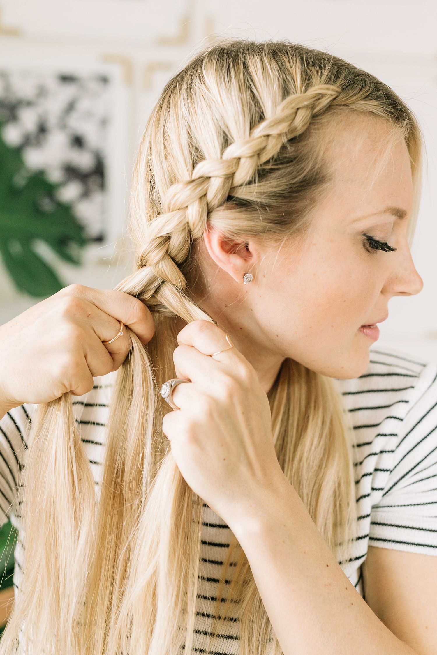 Dutch braid tutorial u a beautiful mess f a b u h a i r