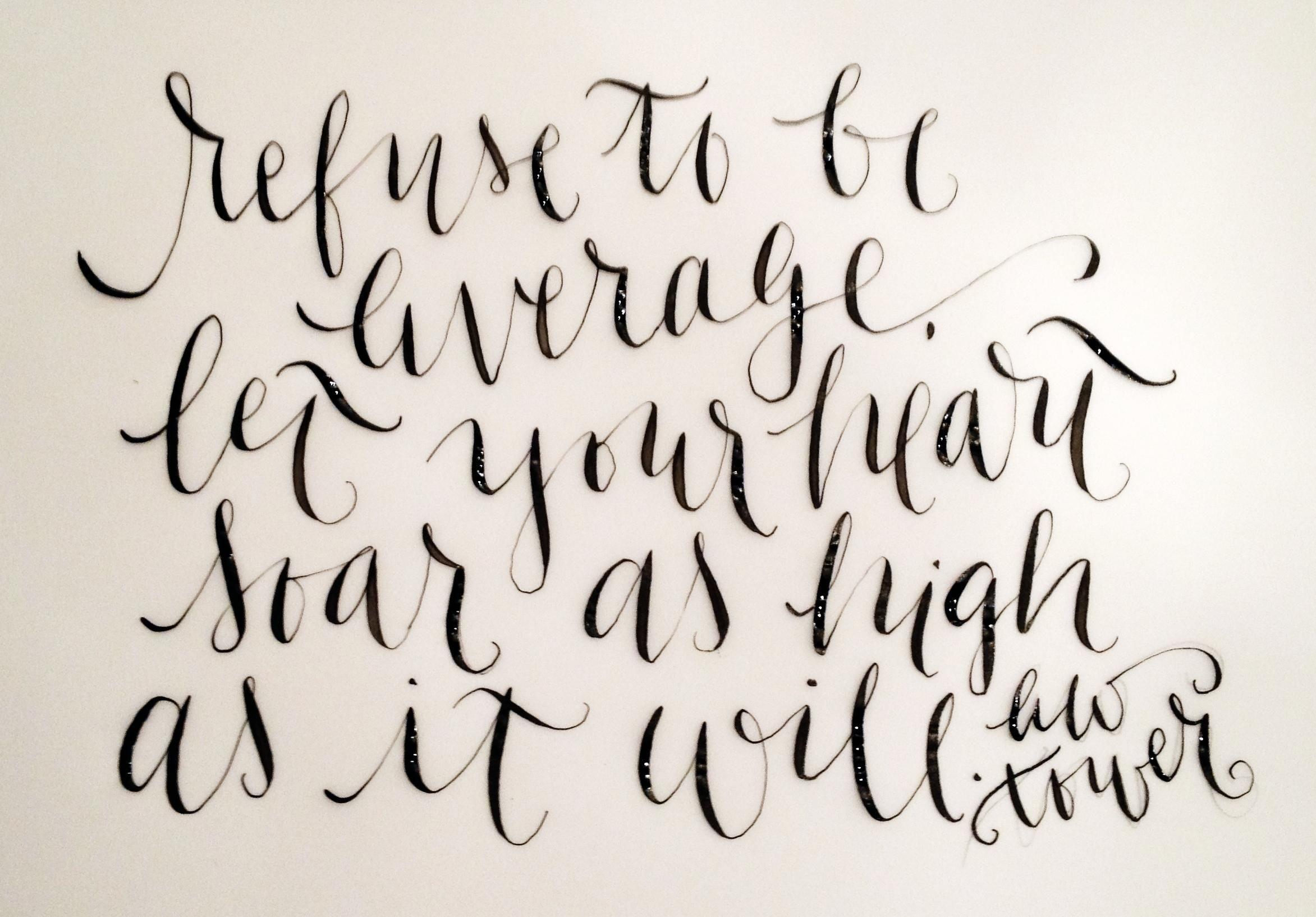 Modern Calligraphy By Jordan Hendrix Skillshare Paper