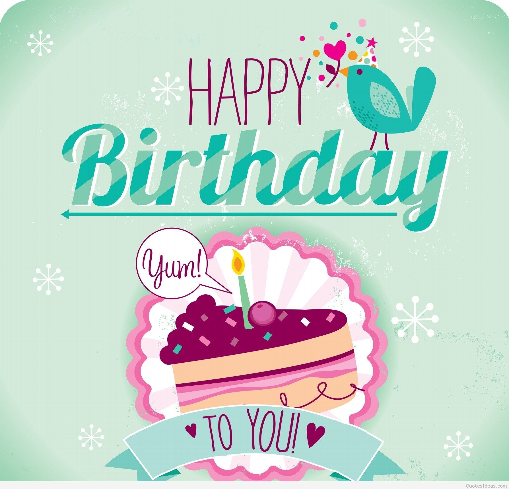 Happy Birthday Cards and Greetings with Messages