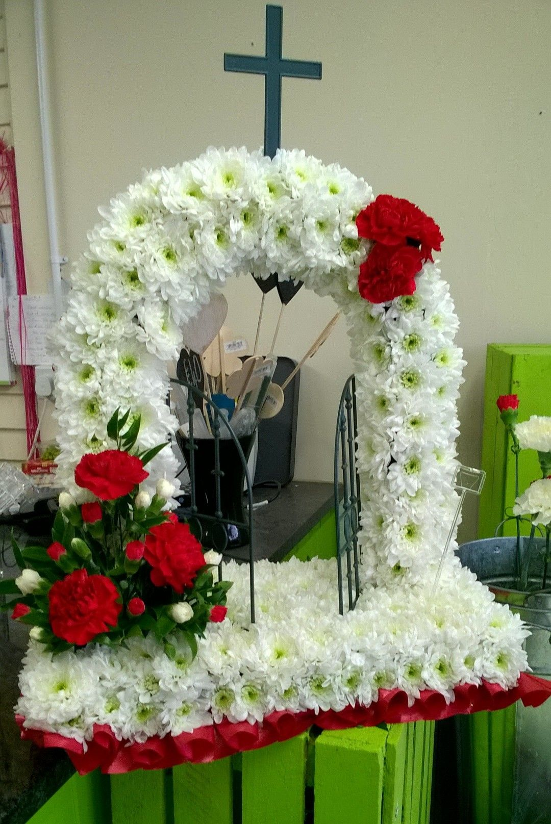 Gates of heaven sympathy and funeral flowers pinterest funeral funeral flowers gates of heaven izmirmasajfo