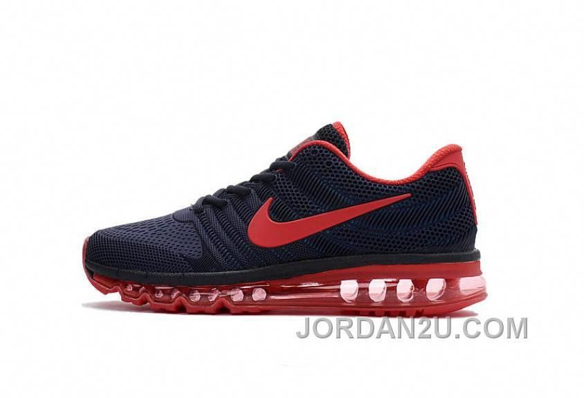 new product d4a82 ca48a Authentic Nike Air Max 2017 KPU All Navy Red Discount 5k5i3E  sportsshoes