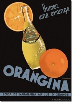 Orangina A Sparkling And Natural Drink Made Of Orange Juice And