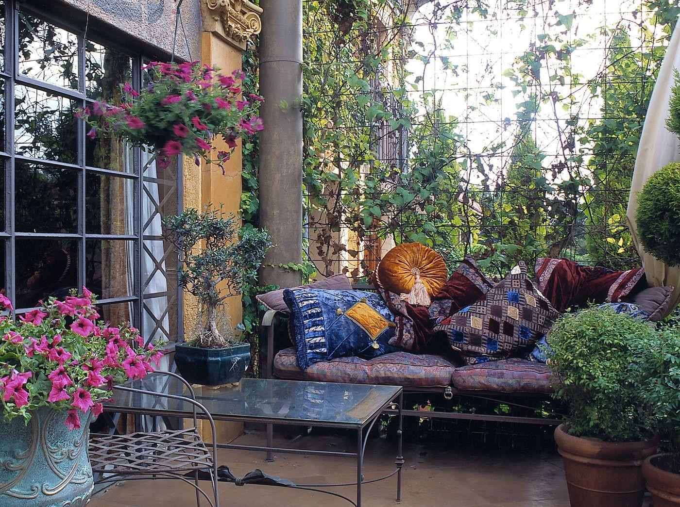 moroccan garden furniture. Moroccan Patio - Outdoor Design Ideas Zimbio Garden Furniture