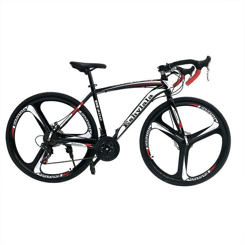 Eshylala Road Bike Shimano 21speed Bicycle 700c Superior Bike Disc