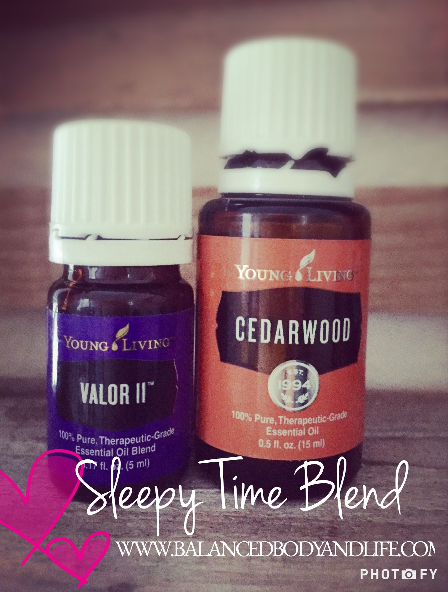 Young Living Essential Oils sleepy time blend