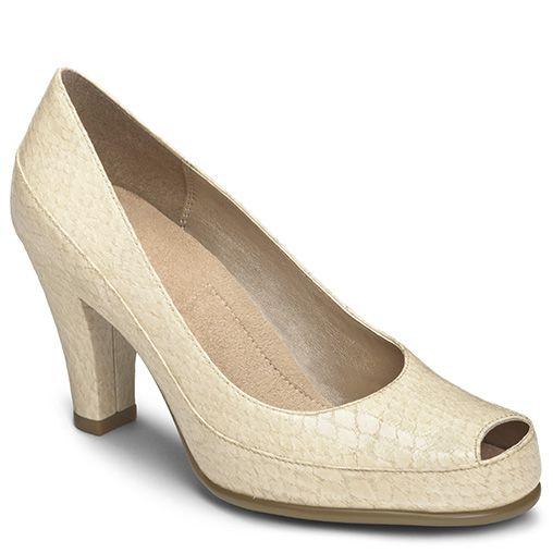 Womens Shoes Aerosoles Big Ben Nude Patent