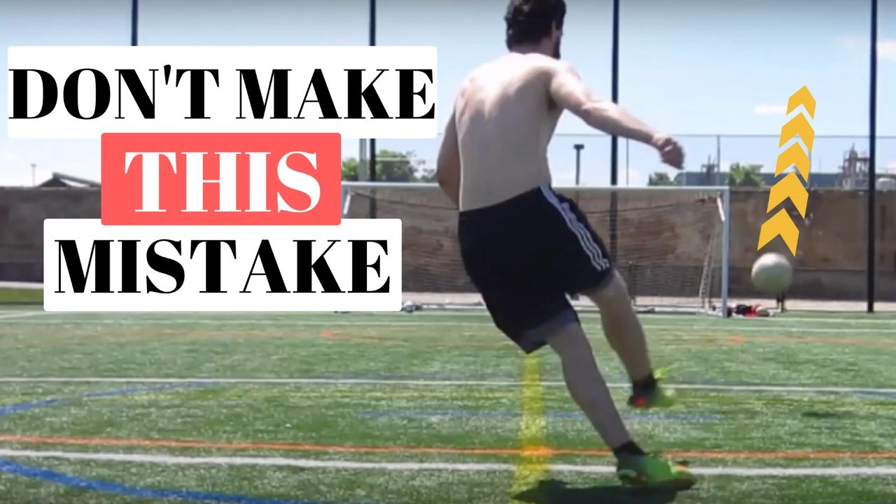 How to improve your shot power in soccer contact vs