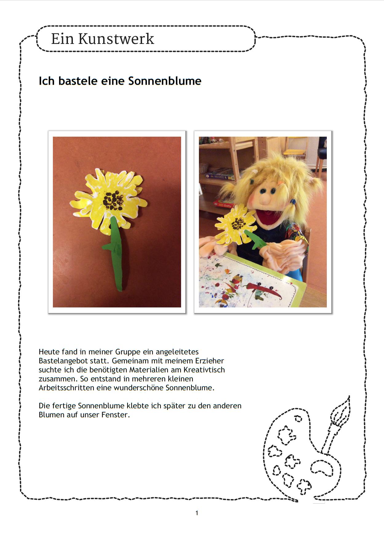Basteln im Kindergarten - da freuen sich die Kinder. #Ideen #Basten ...