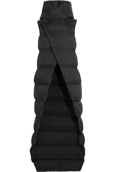 RICK OWENS Padded shell down jacket. #rickowens #cloth #jackets
