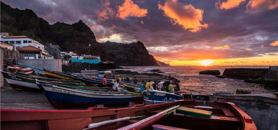Amazing sunset, Santo Antao, Cape Verde #Kaapverdie #CaboVerde