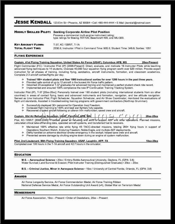 back post airline pilot resume sample flight attendant resumes - sample pilot resume