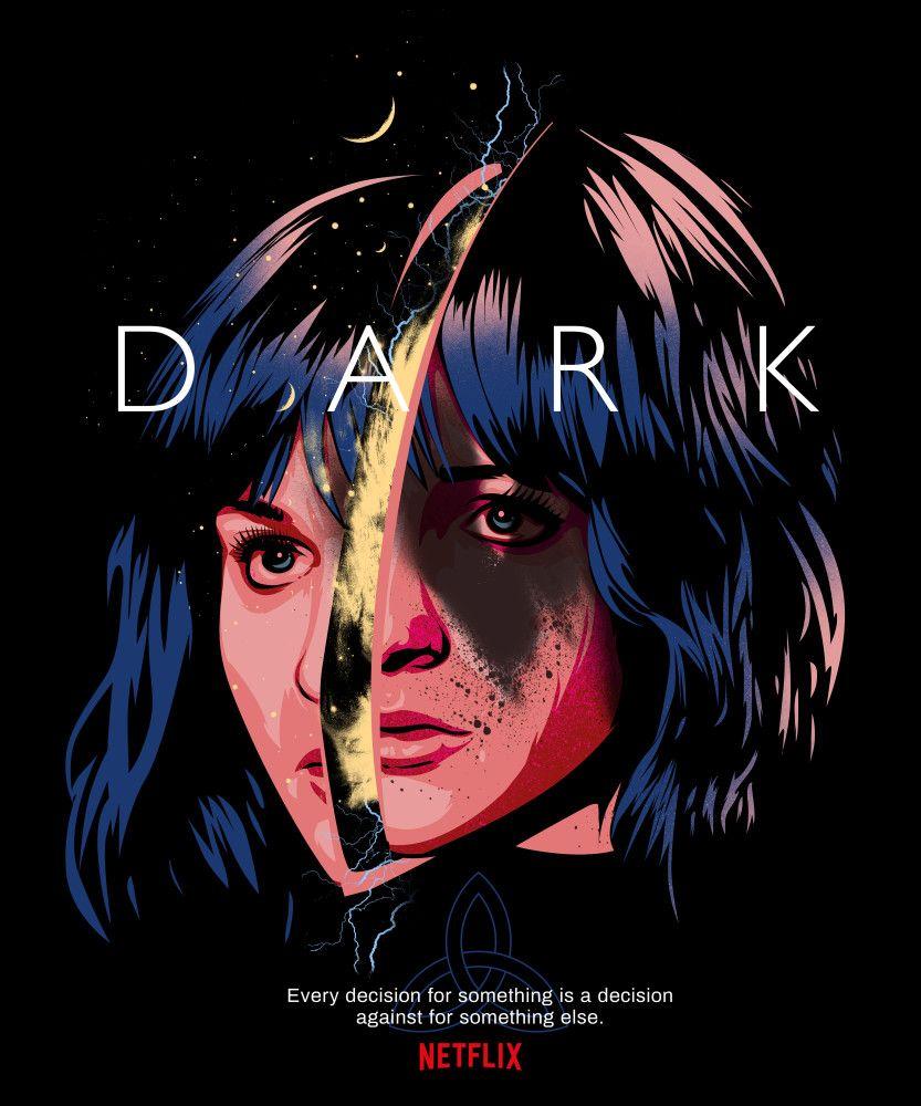 Multiverse Martha Dark Wallpaper Movie Posters Design Film Poster Design Dark netflix wallpaper jonas and martha