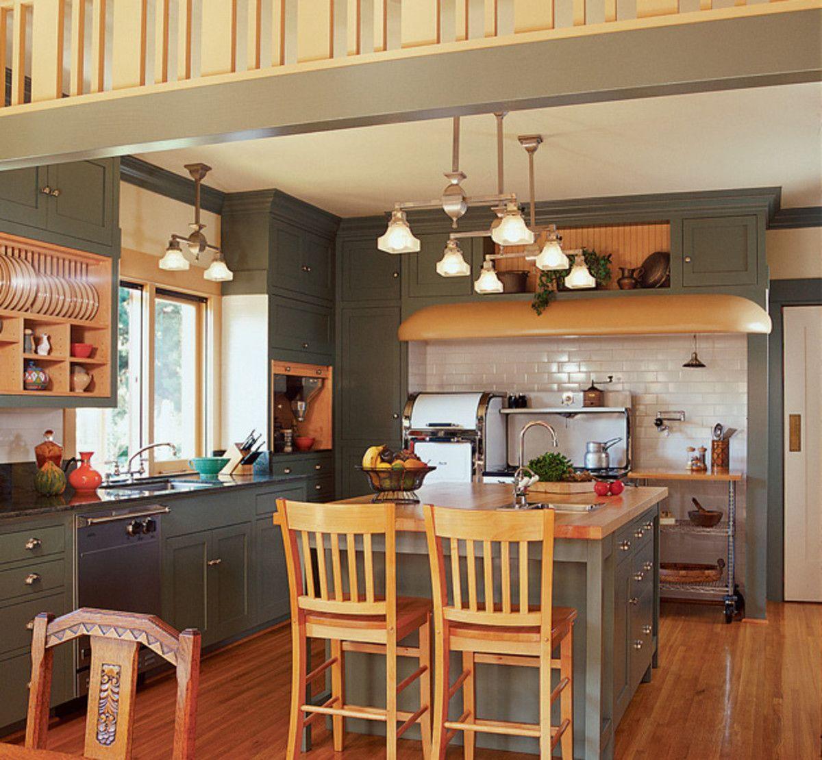 A Prairie Style House Gets a Revival Kitchen | Prairie ...