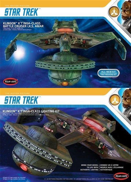 Star Trek 49211: Polar Lights 1 350 Star Trek Klingon K T