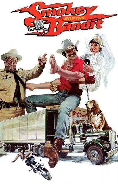 SMOKEY AND THE BANDIT Movie POSTER  70/'s