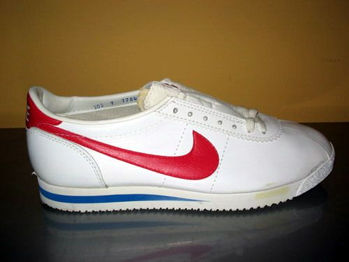 Original nike shoes - Really cool then, not so much now.
