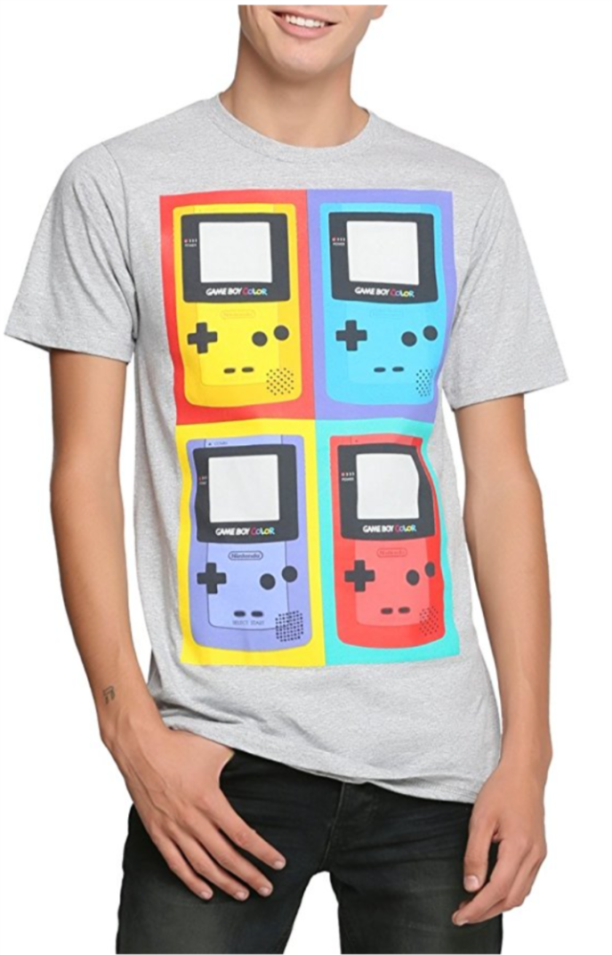 Official Nintendo Gameboy Color T Shirt Buy Here Http Amzn To 2mju3fu Gameboy Kids Clothing Subscription Boys