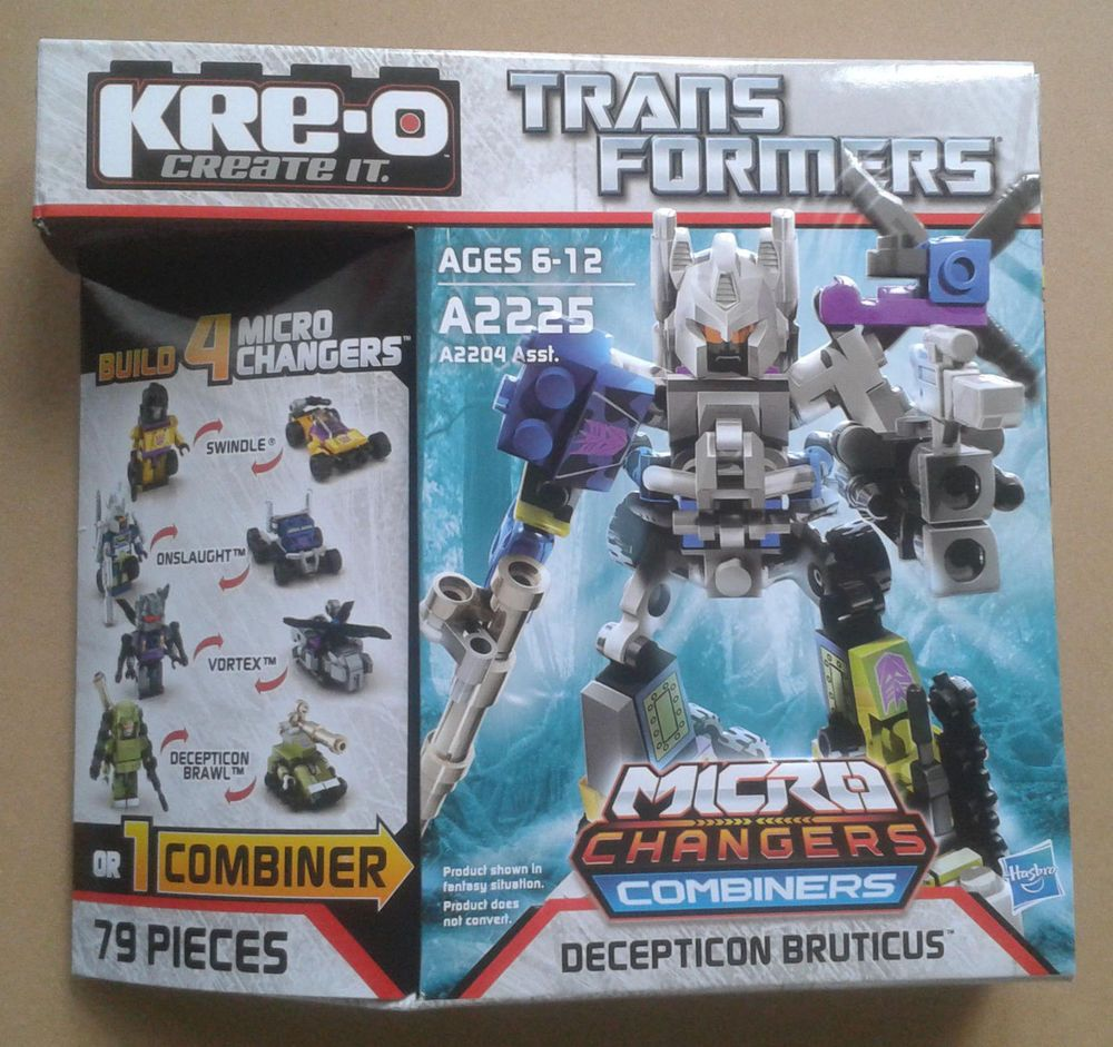 Kre O Transformers Decepticon Bruticus Micro Changers Combiners Kreo A2225 New Kreo Transformers Kid Party Games Outdoor Cool Lego Creations